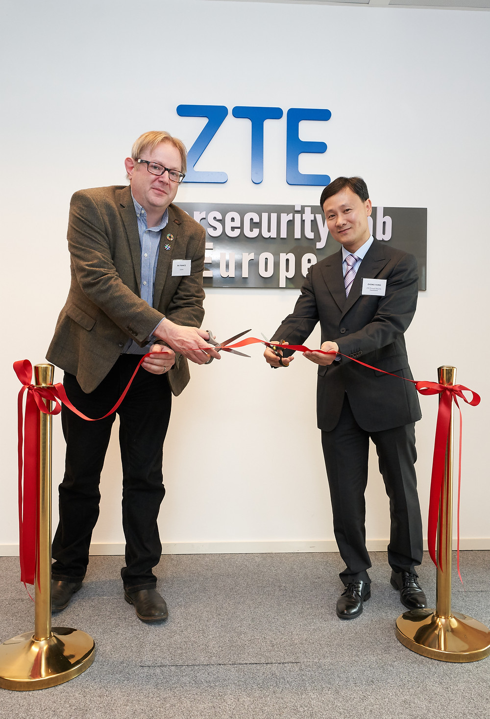 ZTE launches its Cybersecurity Lab Europe in Brussels furthering its commitment to the ICT industry security