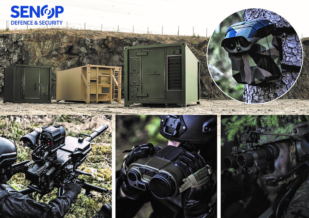 Senop presents it's capabilities as an enabler of advanced situational awareness