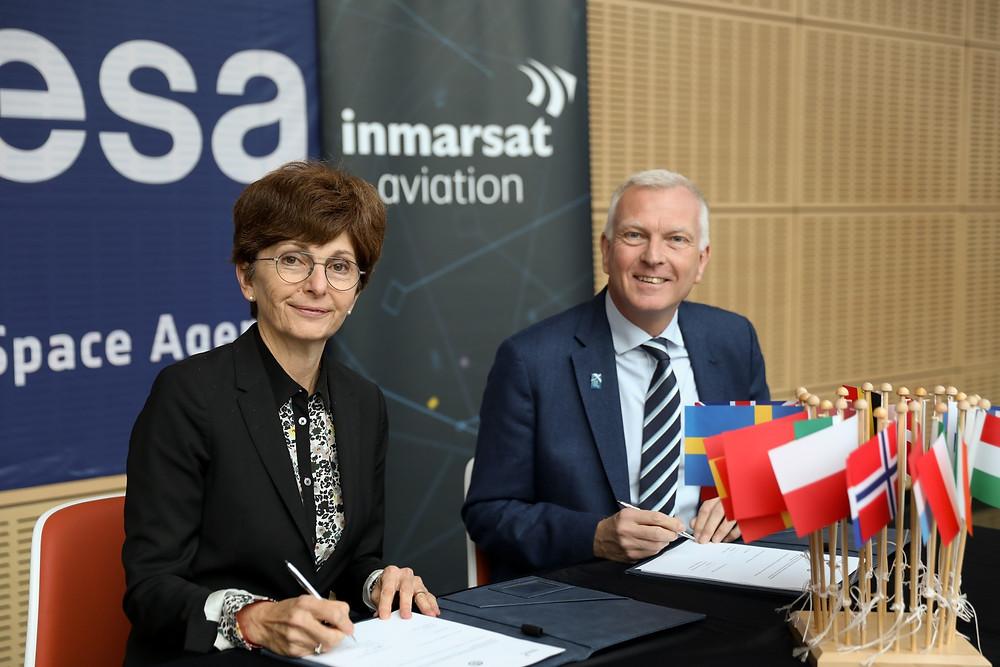 Inmarsat signs agreement to start commercial flight trials of Iris air traffic modernisation programme