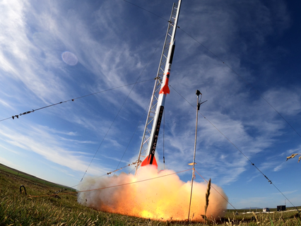 Skyrora's Skylark Micro rocket launches from Iceland