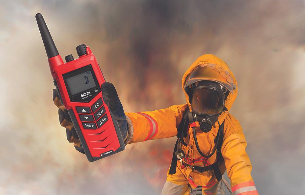 SAILOR 3965 Fire Fighter Radio