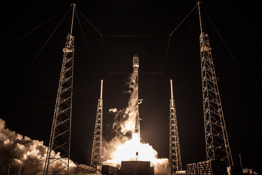 SES selects SpaceX for launch of new C-band satellites