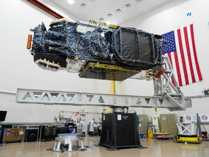 High-power communications satellite built by Maxar for Intelsat arrives at launch base