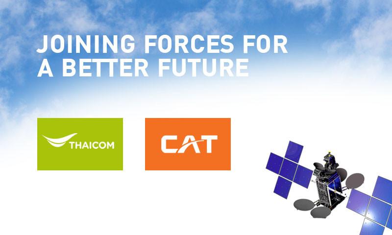Thaicom and CAT announce satellite business joint venture