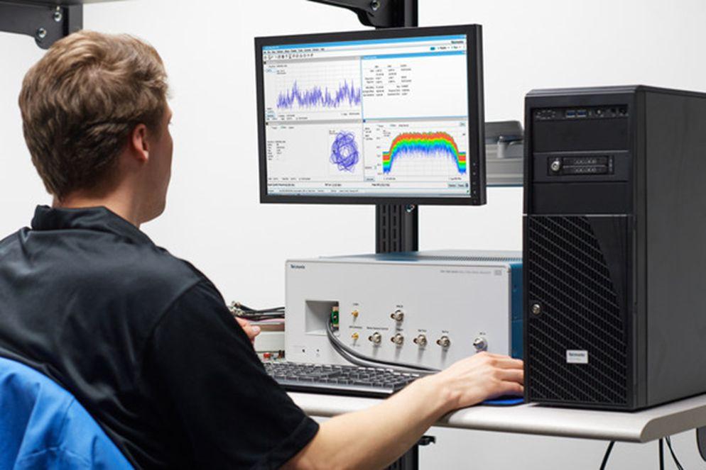 Tektronix introduces RSA7100B wideband RF signal analyzer and streaming recorder