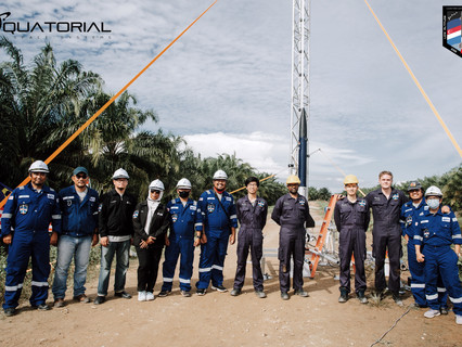 Equatorial Space Systems concludes first test flight