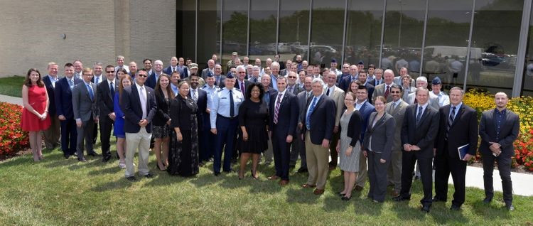 Leaders of the U.S. Air Force Research Laboratory and Northrop Grumman employees this summer marked the awarding of a contract to advance the Space Solar Power Incremental Demonstrations and Research (SSPIDR) Project