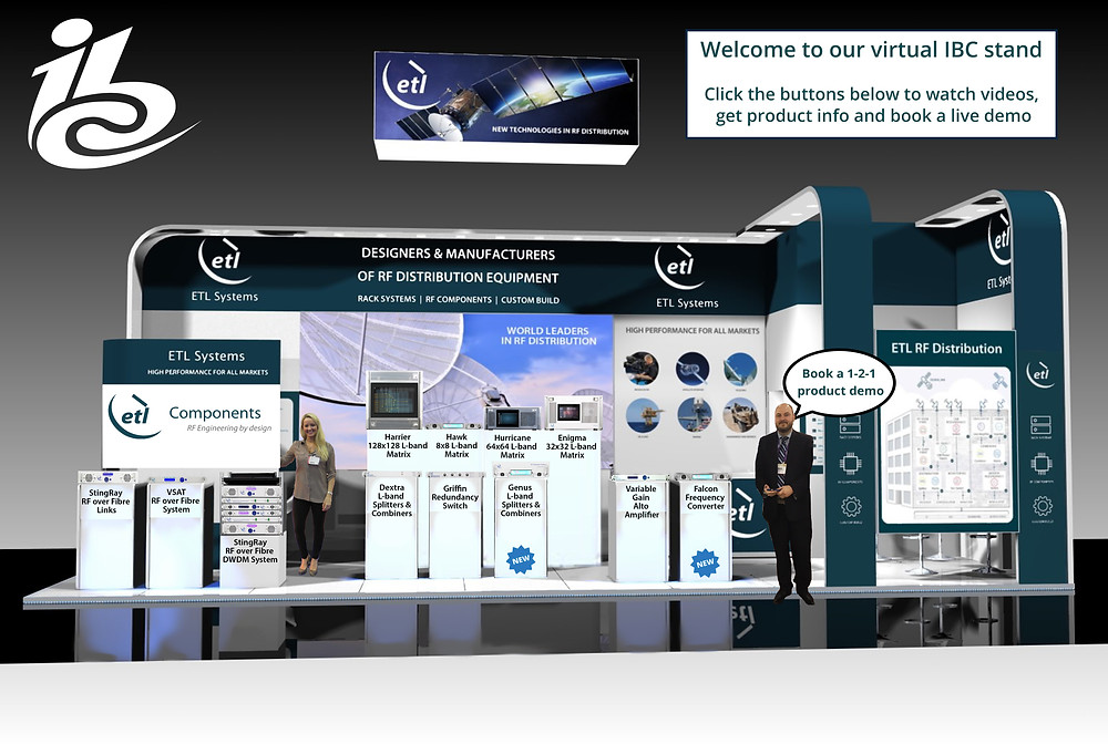 ETL Systems launches virtual stand ahead of IBC 2020 online