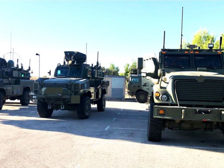 Netline to deliver 87 additional C-Guard RJ vehicular counter-IED systems to the Spanish MoD