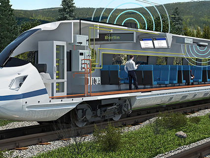 HUBER+SUHNER extends railway portfolio with Kathrein antennas