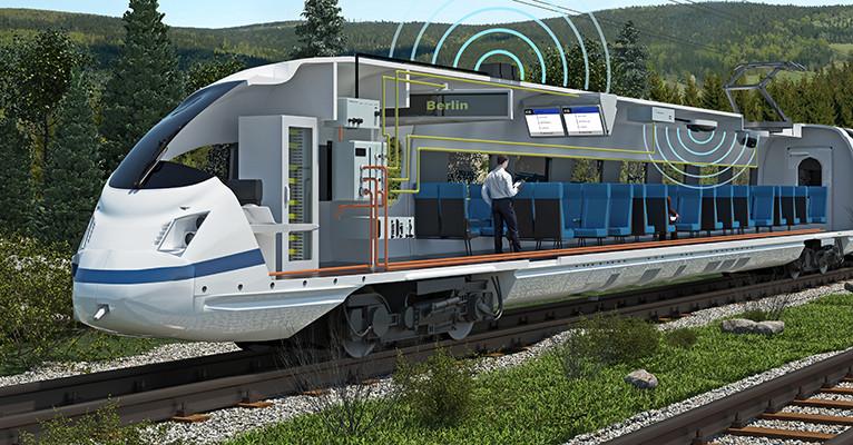HUBER+SUHNER extends railway portfolio with Kathrein antennas