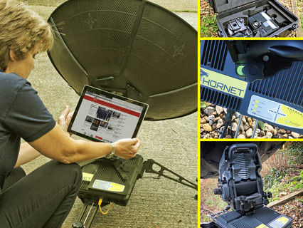 The Hornet state of the art modular terminal - a rugged interchangeable multiband solution powered b