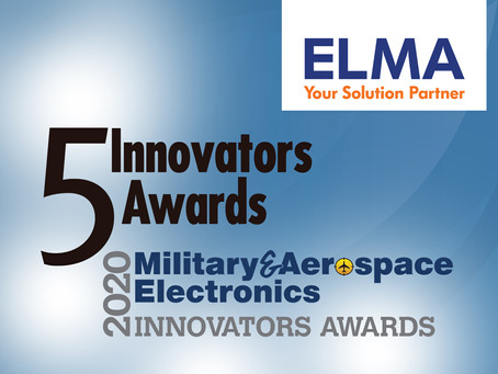 Elma Electronic nabs five awards in Military & Aerospace Electronics Technology Innovator Awards