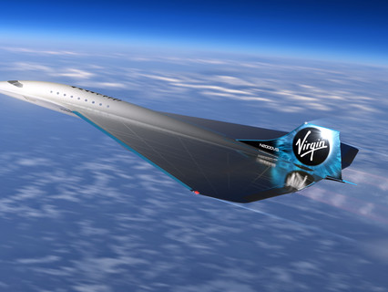 Virgin Galactic unveils mach 3 aircraft design for high speed travel, and signs MOU with Rolls-Royce