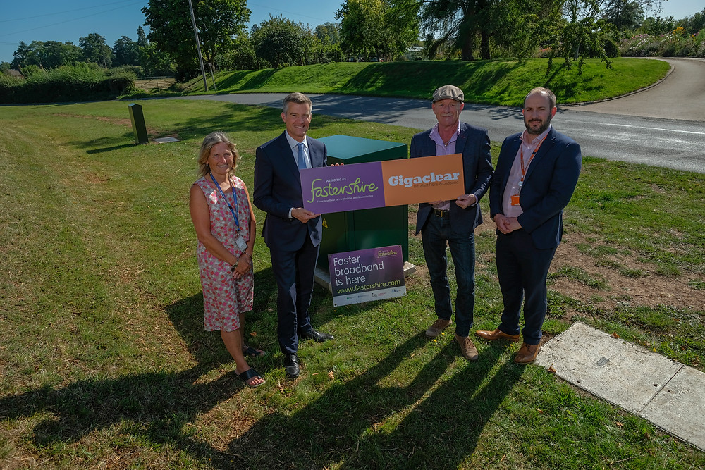 Gigaclear ensures a thousand properties in Forest of Dean get ultrafast connections
