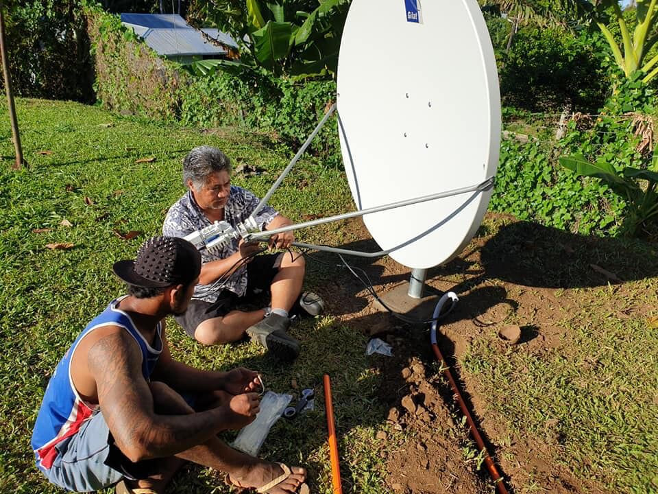 Opening of the Pacific Satellite Connectivity Project