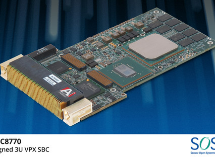 Aitech's SOSA aligned U-C8770 single board computer (SBC) first to offer advanced cybersecurity