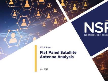 A Nearly US$17 billion opportunity for flat panel satellite antennas over the next decade