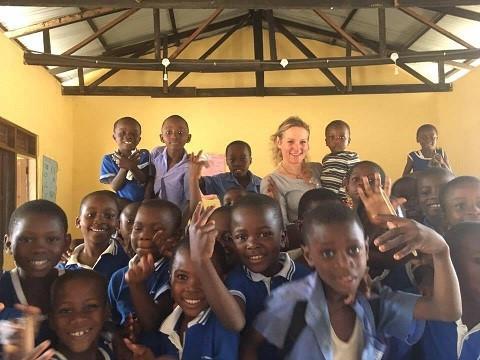 Caroline De Vos in the Greater Accra Region, Ghana
