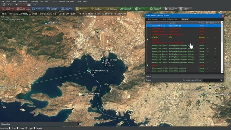 Northrop Grumman is applying artificial intelligence to real-time wargames to break complex models and enhance military strategy. (Photo courtesy of Slitherine Software)