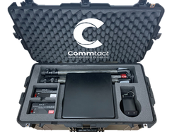 Commtact unveils a portable, lightweight communications kit, that enables rapid and easy deployment