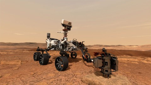 NASA's Perseverance Rover is on its way back to the planet of Mars. Photo Credit: NASA