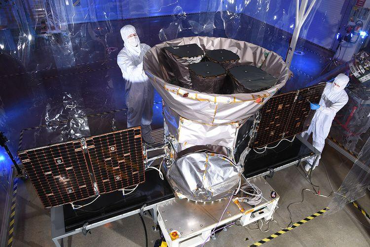 NASA's Transiting Exoplanet Survey Satellite (TESS) was built at Northrop Grumman's Dulles, facility.