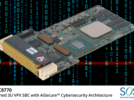 Aitech's U-C8770 SBC, offering AiSecure™️ cybersecurity, is now in full production