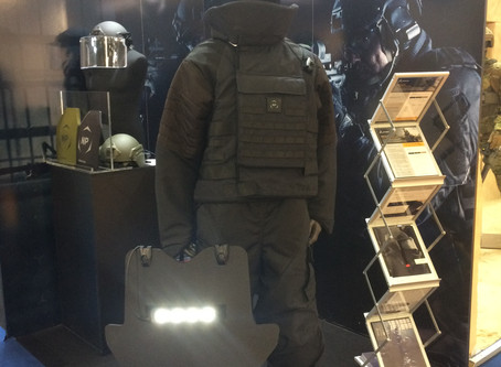 NP Aerospace launches new tactical ballistic shield range