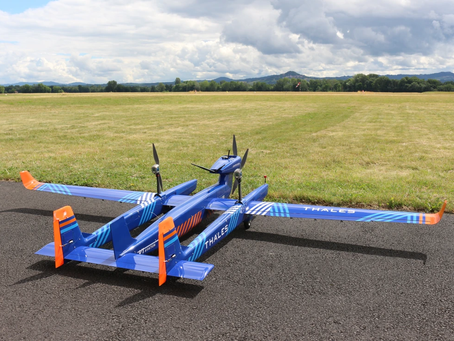 Thales completes successful first flight of new UAS with range capabilities of over 100km