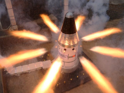 Northrop Grumman completes final qualification test for NASA's Orion launch abort system attitude co