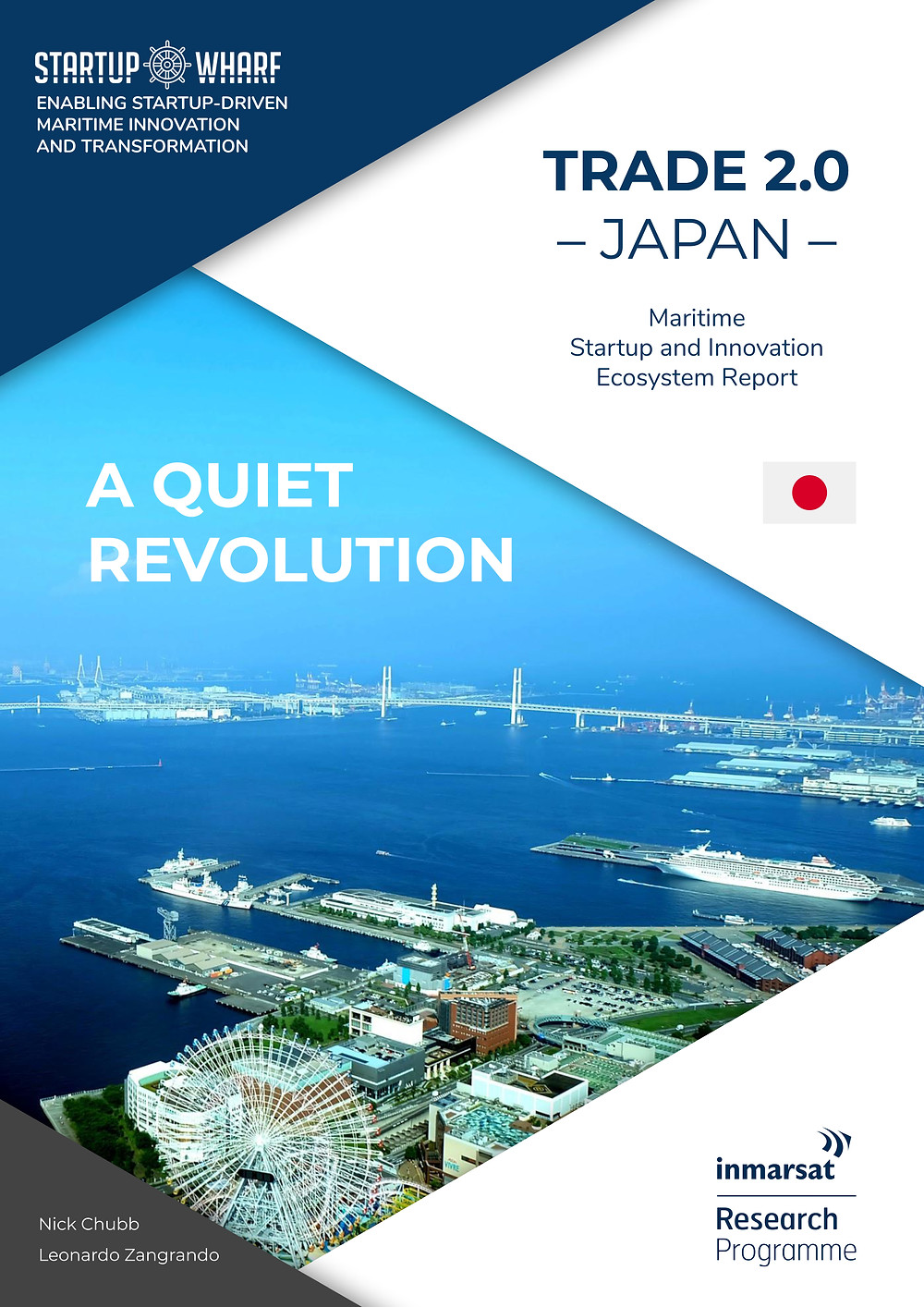 Inmarsat report highlights critical role of partnership in Japan's connected maritime innovation ecosystem