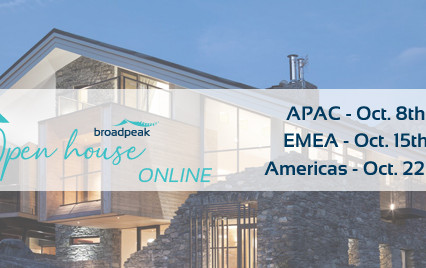 Pay-TV operators and leaders in video delivery and streaming unite at Broadpeak virtual open House
