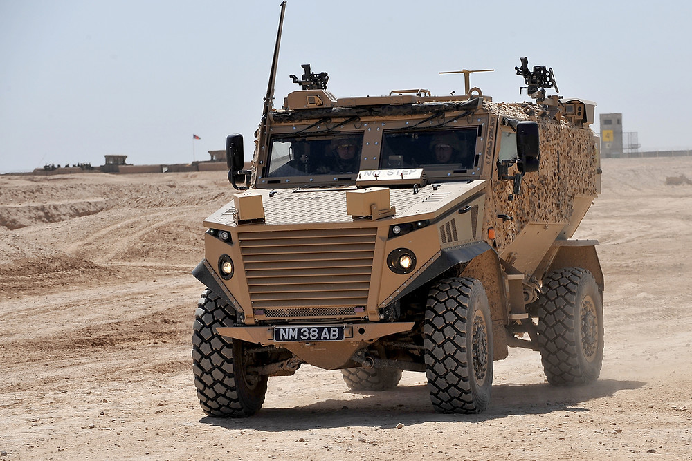 The Force Protection Foxhound Snatch Land Rover