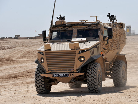 UK MoD awards contract to demonstrate electric-drive Foxhound and Jackal vehicles