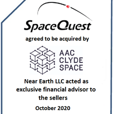 We are pleased to announce our role in the acquisition of SpaceQuest by AAC Clyde Space