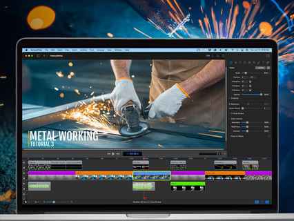 Telestream raises bar with ScreenFlow 10 video editing & screen recording software
