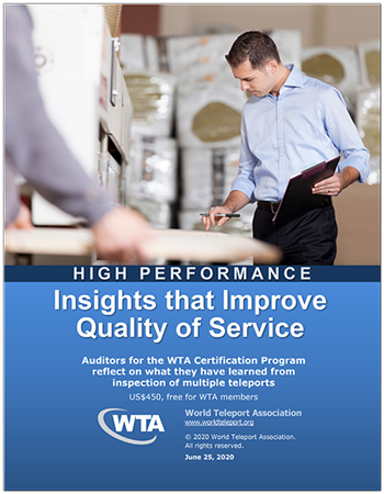 """New WTA report, """"Insights that Improve Quality of Service,"""" provides key data from WTA certification auditors on management practices"""