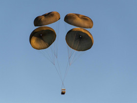 U.S. Army DEVCOM soldier center completes airdrops of the IrvinGQ ATAX land system at Yuma