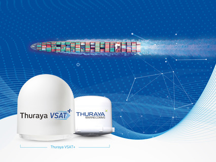 Thuraya VSAT+ empowers smart shipping and digitalization as sector aims for sustainability