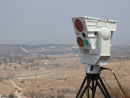 CONTROP launches a high-end new digital SPEED-LR smart system for long-range ground observation
