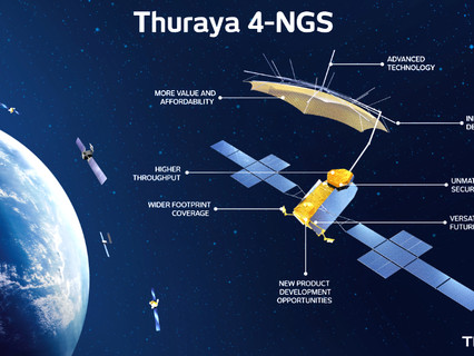 Yahsat selects GMV to provide spacecraft control systems for upcoming Thuraya 4-NGS Satellite