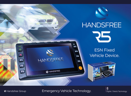 Handsfree R5 ESN fixed vehicle device solution update