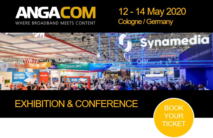 90 percent of ANGA COM 2020 exhibition space already sold