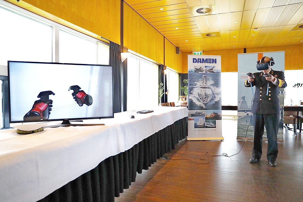 Virtual training becomes reality for Royal Netherlands Navy