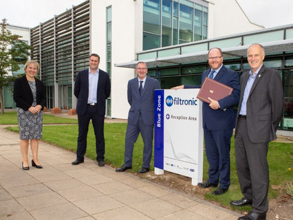 UK Minister for Science, Research and Innovation praises Filtronic following visit