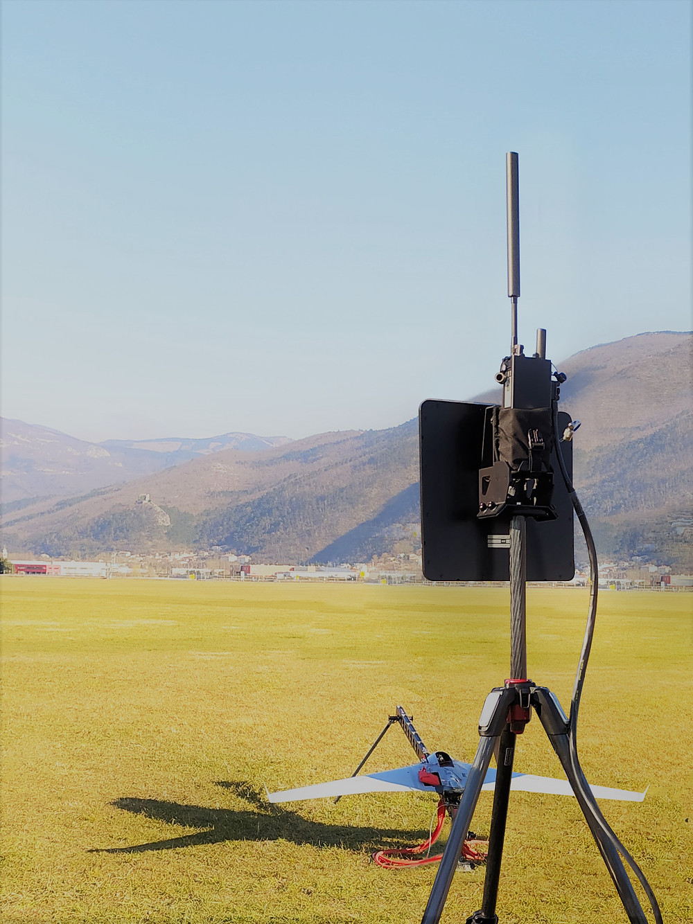 BAT Ground System integrated with UAV