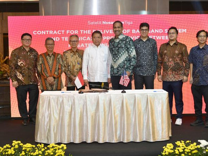 Hughes JUPITER System selected to power new Indonesian high-throughput satellite