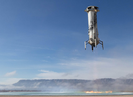 Blue Origin's next new Shepard Launch will test key technologies with NASA for returning to the