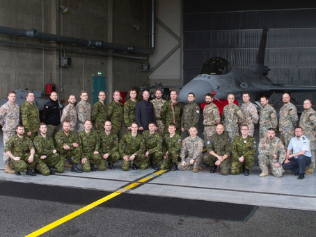 Inzpire Limited deliver electronic warfare training to European delegates